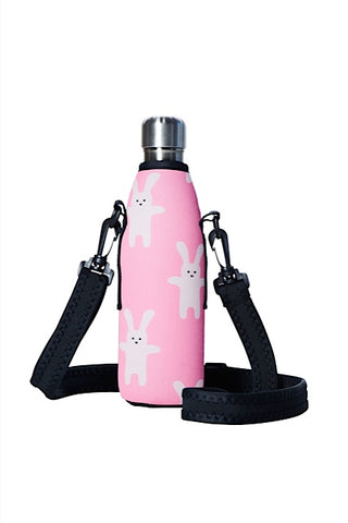 TRVLR by BBBYO carry cover - with shoulder strap - 500 ml - Rabbit print