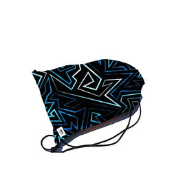 Swimbag - drawstring - Lightning print