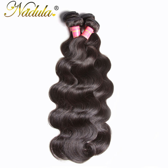 Nadula Hair Unprocessed Brazilian Virgin Hair Body Wave Hair Weft Extension 100% Human Hair Weave