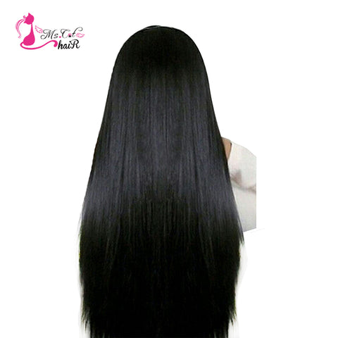 "Ms Cat Hair Malaysian Straight Hair Bundles Human Hair Extensions No Shedding Non Remy 8""-26"" Hair-WeaveKINGDOM.com"