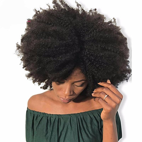 "<span style=""color: #ff0000;"">Holiday HOT Deal!</span> 4B 4C Afro Kinky Curly Clip In Human Hair-WeaveKINGDOM.com"