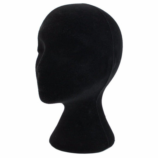 28cm Height Female Foam Mannequin Manikin Head Model Head Mould Wigs Hair Glasses Hat Display Stand-WeaveKINGDOM.com