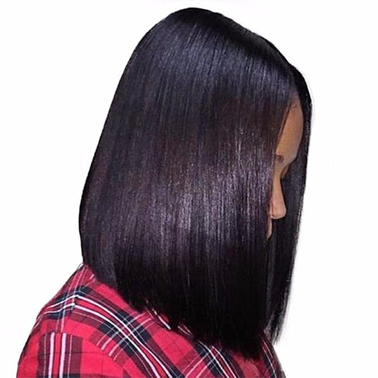 "<span style=""color: #ff0000;"">Holiday HOT Deal!</span> WK Lace Front Human Hair Bob Wigs For Black-WeaveKINGDOM.com"