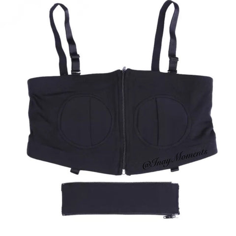 Inay Moments Hands Free Pumping Bra - Black