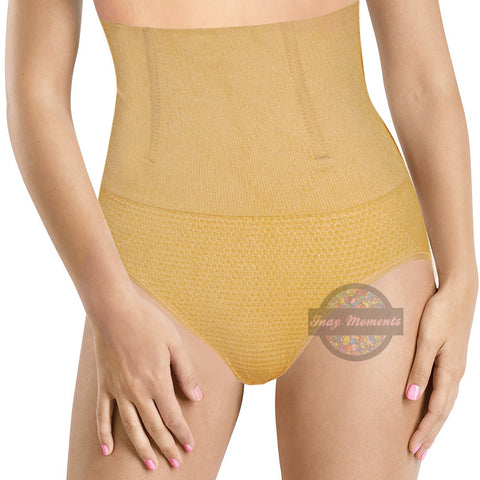 High Waist Tummy Control Panty Girdle- Nude - Classic Non Hook