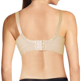 Inay Moments Semi Push-up Nursing Bra - Nude