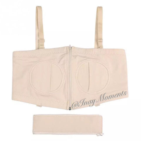 Inay Moments Hands Free Pumping Bra - Nude