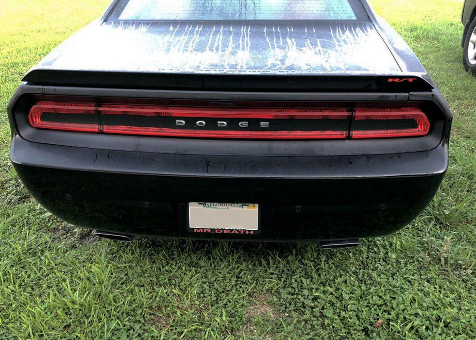 2008-14 Challenger Tail Light Tint Kit - Strike Out - Luxe Auto Concepts