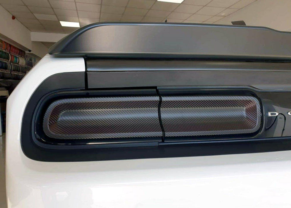 2015+ Challenger Tail Light Tint Kit - Type 2 (Full Wrap)