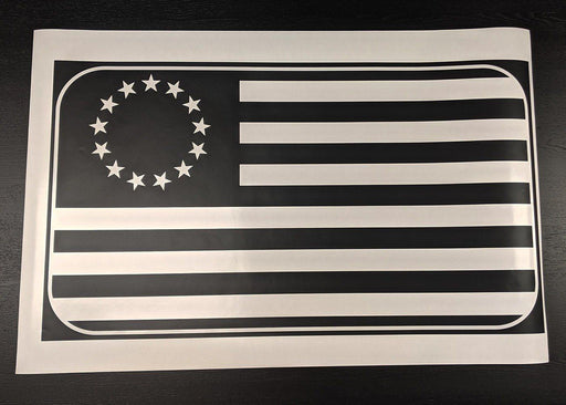 Betsy Ross Flag Sunroof Decal for Dodge Vehicles