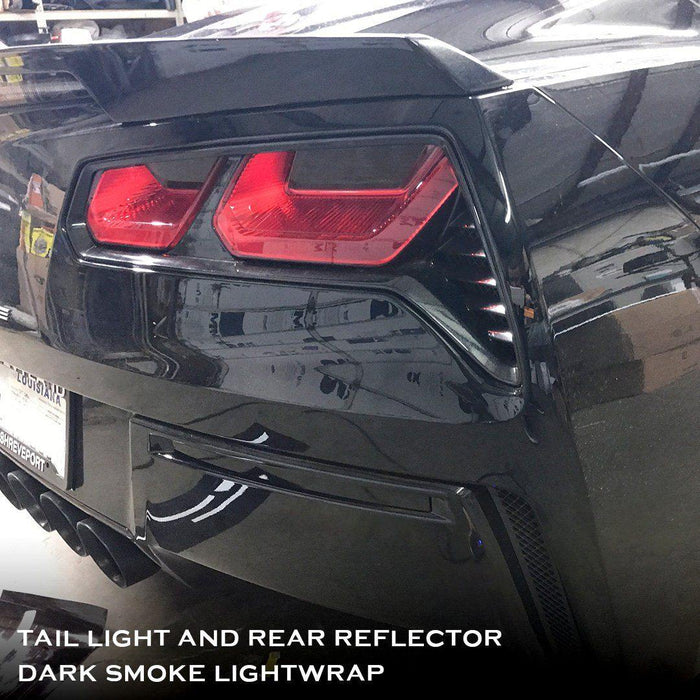 C7 Corvette Tail Light and Rear Reflector Tint