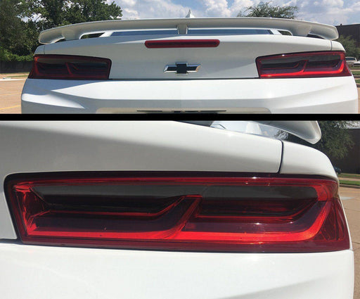 chevy camaro tail light tint kit overlay decal smoke