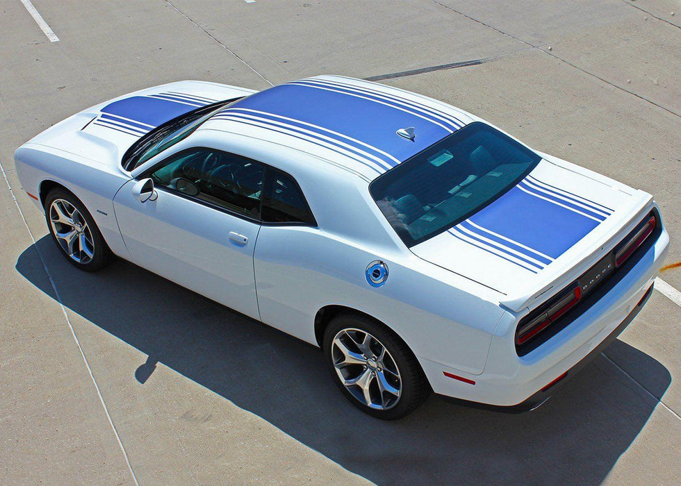 2015+ Dodge Challenger Shaker Rally Stripe - Luxe Auto Concepts
