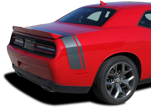 2015+ Dodge Challenger Tail Band Stripe / Scat Pack QP Decal - Luxe Auto Concepts