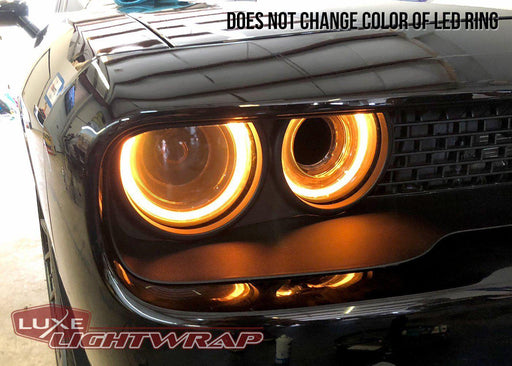 2015+ Challenger Headlight Tint Kit - Luxe Auto Concepts