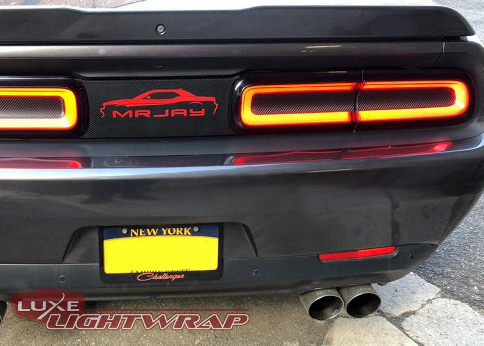 2015+ Challenger Tail Light Tint Kit - Type 1 (Center Overlays)