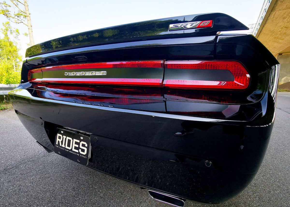 Vinyl Decal Wrap Gloss Black Ford Mustang Tail Light Conversion Kit to 2013