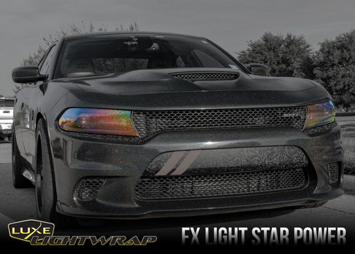 2015+ Charger Headlight Tint Kit - Luxe Auto Concepts