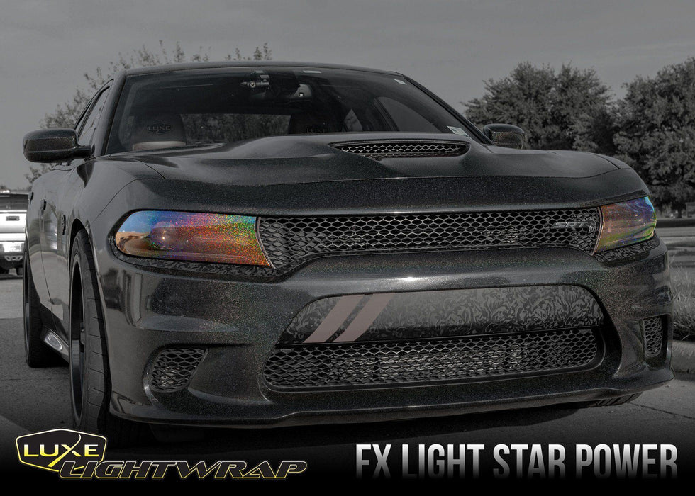 2015+ Charger Headlight Tint Kit