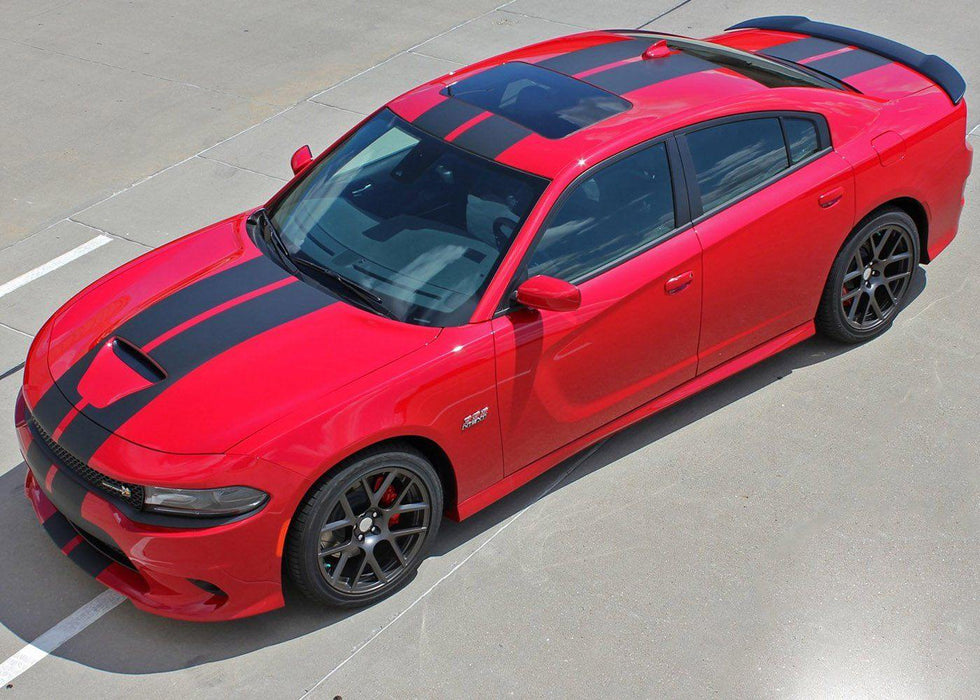 2015+ Dodge Charger N-Charge Rally '15 Stripe Decal