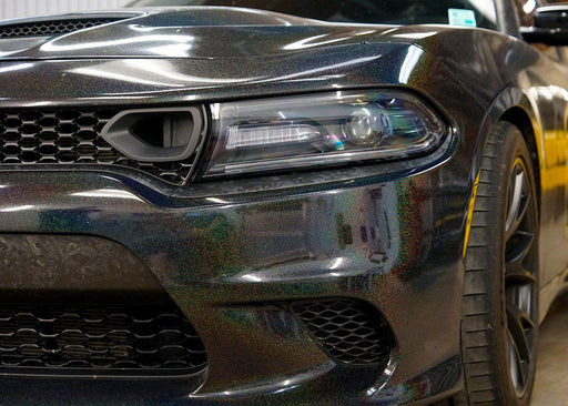 2015+ Charger Headlight Paint Protection Kit