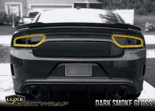 2015+ Charger Tail Light Tint Kit - Type 1 (Side Overlays) - Luxe Auto Concepts