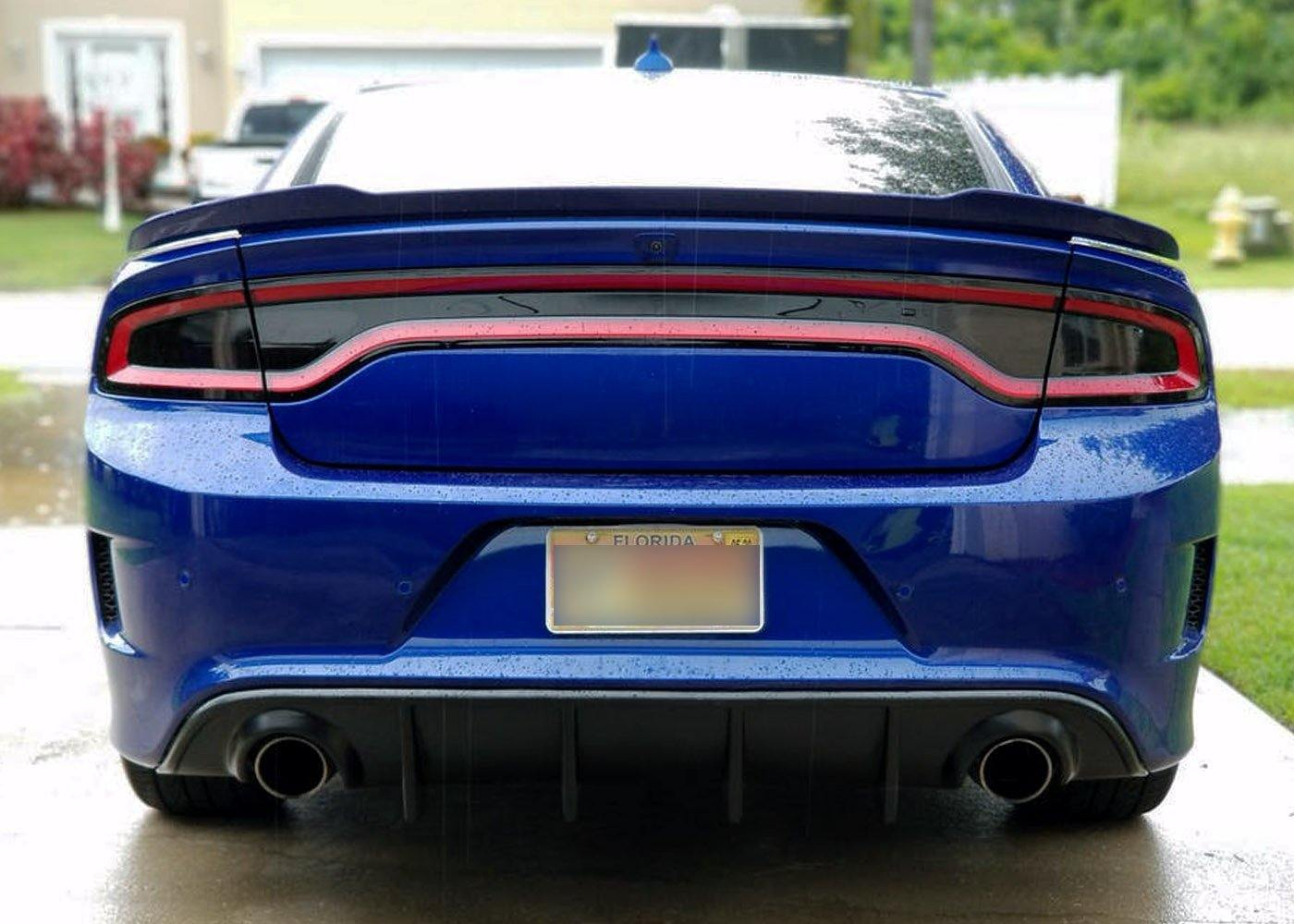 2015+ Charger Tail Light Tint Kit - Type 1 (Side Overlays)