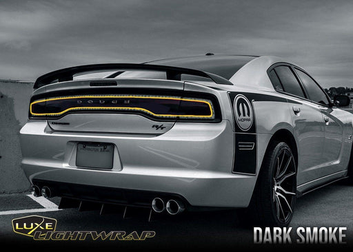 2011-14 Charger Tail Light Tint Kit - Type 1 (Center Overlay)