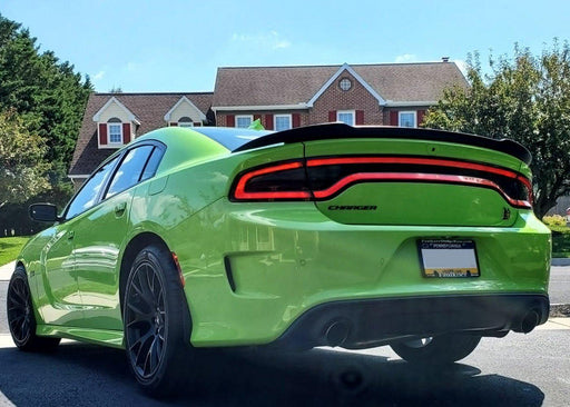2015+ Charger Tail Light Tint Kit - Type 2 (Center Overlay) - Luxe Auto Concepts