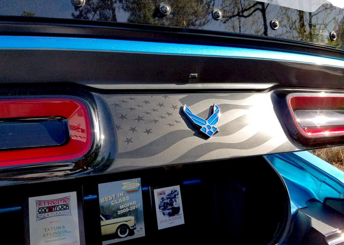 2015+ Challenger Taillight Flag Decal