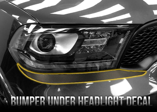 2018+ Durango SRT Bumper Under Headlight Decal Kit