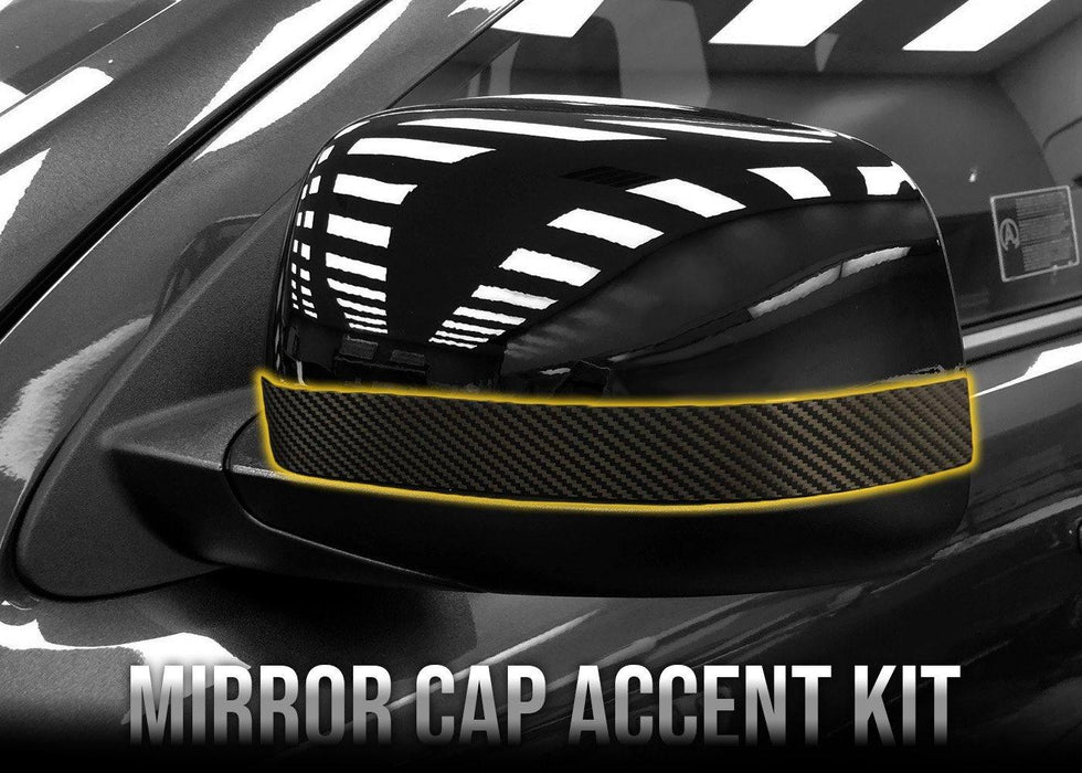 2014+ Durango Mirror Cap Accent Kit