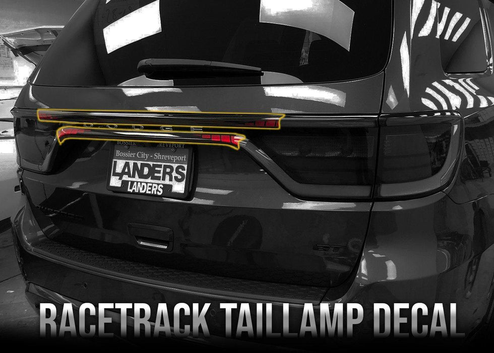 2014+ Durango Racetrack Taillamp Decal