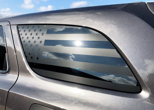 2014+ Durango Rear Side Window Flag Decal Kit