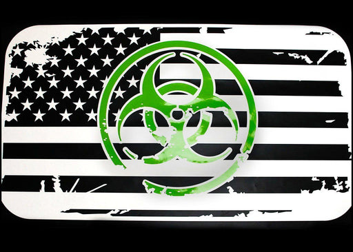 Halloween USA Flag Sunroof Decal for Dodge Vehicles