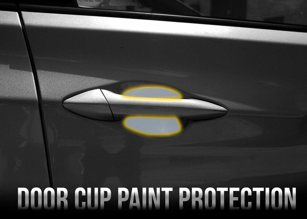 2010-15 Hyundai Elantra Door Cup Paint Protection Film Kit - Luxe Auto Concepts