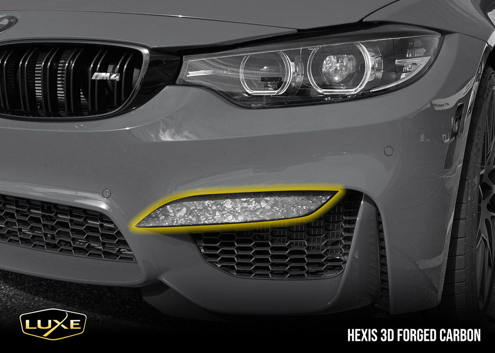 2014-2020 BMW M4 Front Bumper Upper Splitter Decals