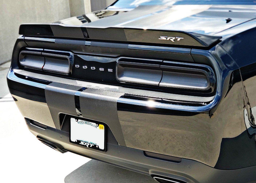 2015+ Dodge Challenger Rear Reflector Tint Kit - Luxe Auto Concepts