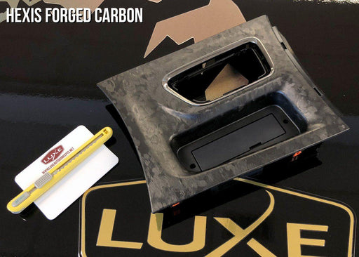 Universal Vinyl Sheet Wrap Kit - Hexis Forged Carbon Fiber - Luxe Auto Concepts