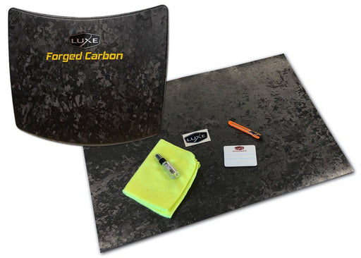 Universal Vinyl Sheet Wrap Kit - Hexis Forged Carbon Fiber