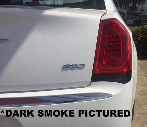 chrysler 300 reverse light tint kit decal overlay