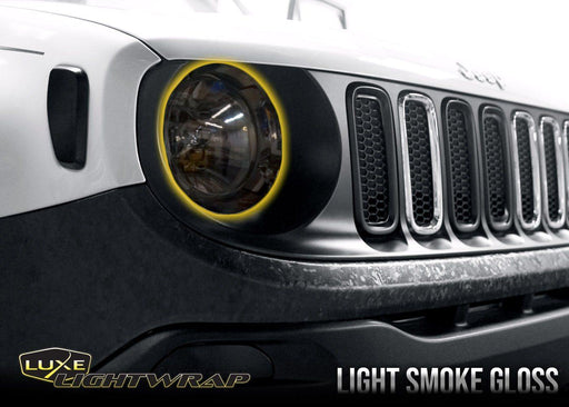 2015+ Jeep Renegade Headlight - Full Wrap Tint Kit - Luxe Auto Concepts