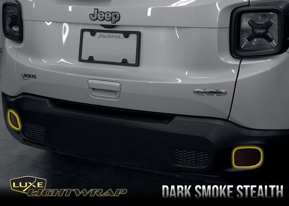 2015-2020 Jeep Renegade Rear Reflector - Overlay Tint Kit - Luxe Auto Concepts