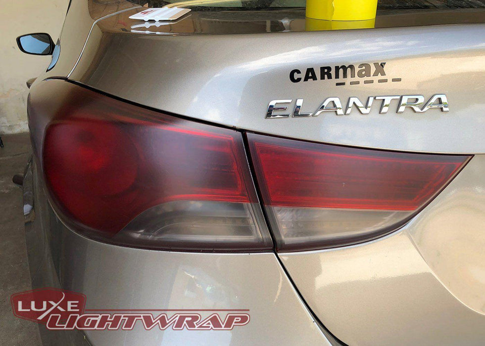 Luxe LightWrap Light Smoke Stealth Tinted Hyundai Taillight