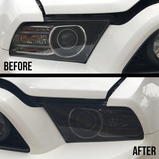 2010-14 Mustang Headlight Tint Kit - Luxe Auto Concepts