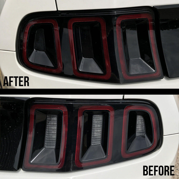 2013-14 Mustang Tail Light Tint Kit - Luxe Auto Concepts