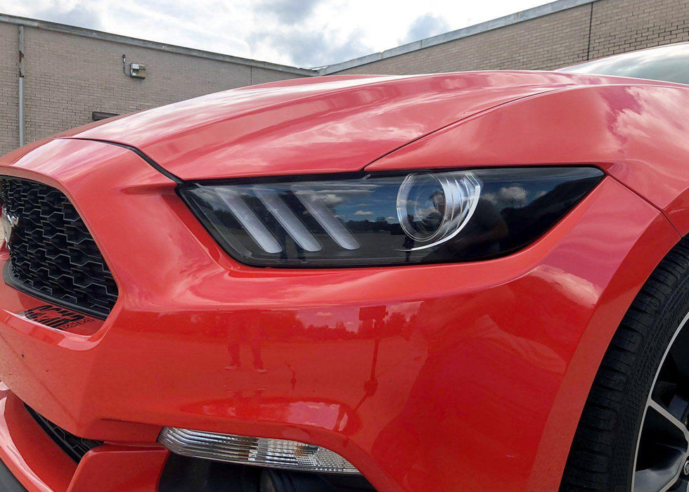 2015-17 Mustang Headlight Reflector Tint Kit