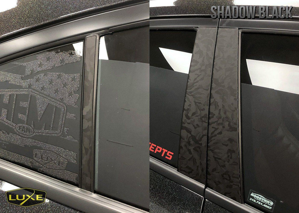 2011+ Dodge Charger Door Pillar Wrap Kit
