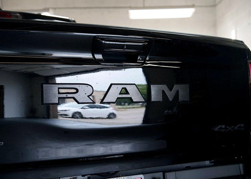 2019+ Dodge RAM 1500 Tail Gate Text Logo Overlay Kit