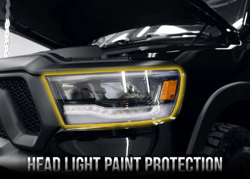 2019+ Dodge RAM 1500 Headlight PPF Kit - Luxe Auto Concepts